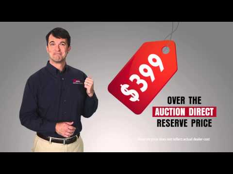 Auction Direct - Just $399 over the auction reserve price.