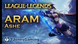 League of Legends: ARAM - EP 20 - Ashe, Chogath, Ziggs, Galio, Vladmir, Brand