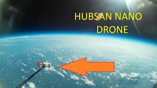Launching a Drone into Space