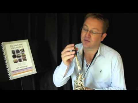 Rob BUckland - PLAYING THE SAXOPHONE - Video Tutorial on Jazz Inflections & Articulation