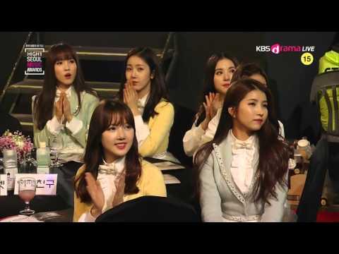 TAEYEON   Bonsang Award & I @ 2016 Seoul Music Awards