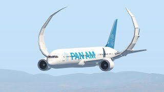 Boeing 787 Crashes After Take Off Due To Serious Turbulence | X-Plane 11