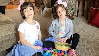Surprise Eggs!! Easter Egg Hunt - Happy Easter! | Twin Family Fun Vlogs