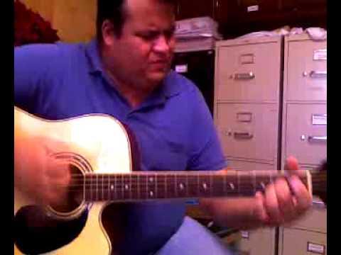 Jesus mi fiel amigo, ivan de leon, guitarra acustica