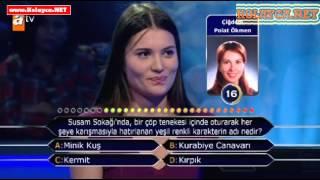 Kim milyoner olmak ister 23 Kasım 2013 287. bölüm Neris Dinçer
