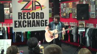 """Shane Told of Silverstein """"Red Light Pledge"""" Live at Zia Rec"""