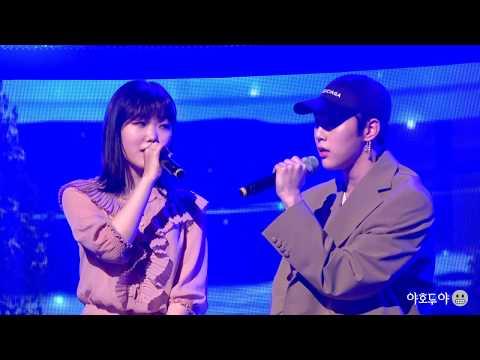 [4k] 171210 오랜 날 오랜 밤(Last Goodbye) - 권현빈(Hyunbin), 이수현: 비정규직아이돌 쇼케이스
