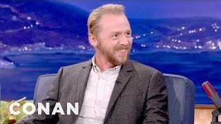 Simon Pegg Shows Off His 12 Stages Of Drunkenness