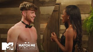 Harry Jowsey + Onyeka Ehie Cozy Up By The Fire | Match Me If You Can | MTV + Pepsi Mango