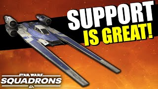 Support ships are SO FUN in Star Wars Squadrons! (...and very important)