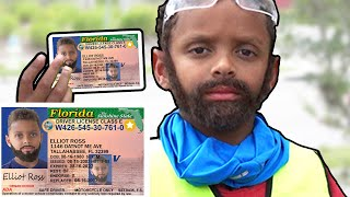 6 Year Old Using Obviously Fake ID at Convenience Store