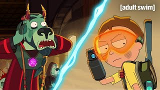 Morty Unleashes Terror | Rick and Morty | adult swim