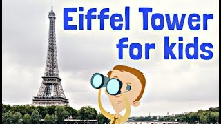 Eiffel Tower Facts for Kids | Learning Video