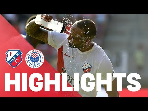 HIGHLIGHTS | FC Utrecht - HŠK Zrinjski Mostar