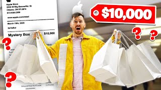 I Gave An Apple Store Employee $10,000 To Make Me A Mystery Box!