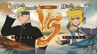 Naruto Hokage Đệ Thất Đối Đầu Minato Hokage Đệ Tứ - Naruto Song Đấu