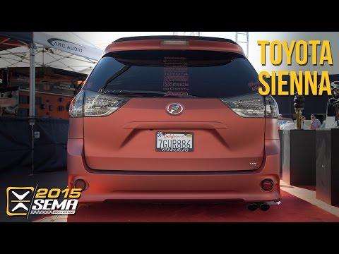 SEMA 2015   Toyota Sienna   Van Kulture