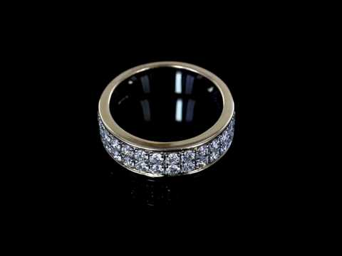 Browns Family Jewellers Two Tone Diamond Ring