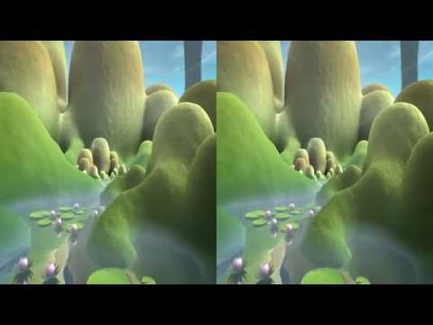 Stunning Animated - 3D Demo - Side by Side