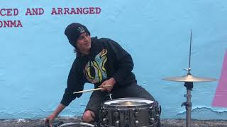 EARFQUAKE Drum Cover at the ODD FUTURE STORE we get kicked out :/