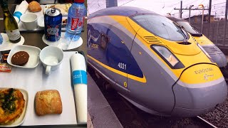 Berlin - London by High-Speed Train in First Class (Eurostar)