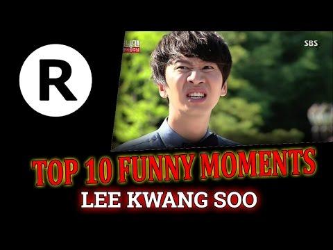 TOP 10 Funny Moments Lee Kwang Soo Part 1 - Running Man