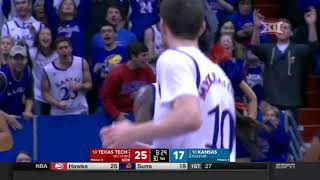 Texas Tech vs Kansas Men's Basketball Highlights