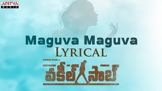 Lyrical video of Pawan Kalyan's Vakeel Saab 'Maguva Maguva..