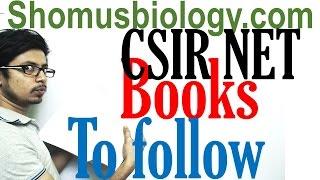 CSIR NET life sciences books to follow | Best books for CSIR NET exam preparation