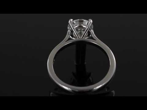 Browns Family Jewellers Brilliant Cut Diamond Solitaire Ring