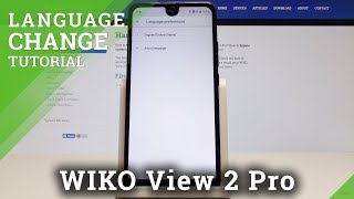 How to Change Language on WIKO View 2 Pro - Set Up System Language