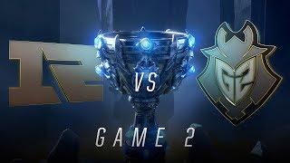 RNG vs G2 | Quarterfinal Game 2 | World Championship | Royal Never Give Up vs G2 Esports (2018)