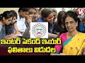 TS Inter Second Year Results 2021 Released   V6 News