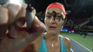 Highlights: WTA R2 - Mladenovic d. Pliskova