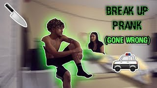 Break Up Prank Gone HORRIBLY Wrong (Backfires!!)