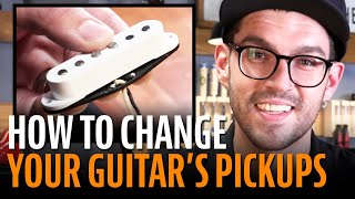 Watch the Trade Secrets Video, How to Change Your Pickups