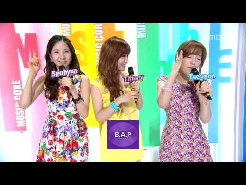 Opening, 오프닝, Music Core 20120721