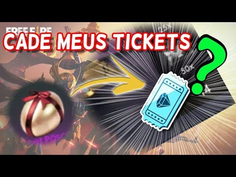 Cadê os Tickets de Diamante? Sumiram!!!