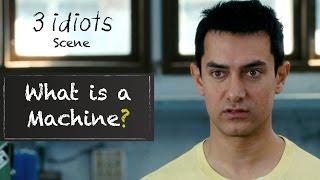 What is a machine? - Funny scene | 3 Idiots | Aamir Khan | R Madhavan | Sharman Joshi