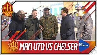 Chelsea vs Man Utd FA Cup COMBINED 11! United Stand vs 100 Percent Chelsea