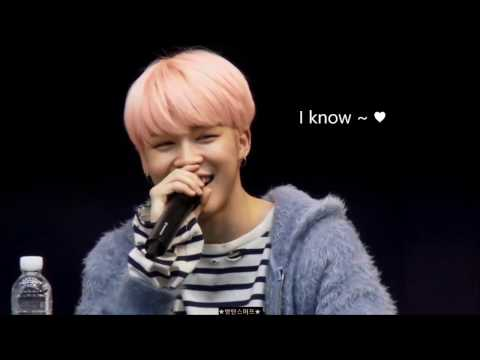 【防彈】粉絲見面會上可愛的互動 BTS Cute Interaction during FanMeeting