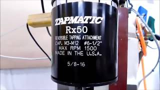 How to Safely Tap 400 holes in 30 minutes.....Take a Look