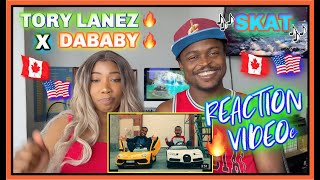 Tory Lanez - SKAT (feat. DaBaby) [Official Music Video] | REACTION VIDEO | @Marie Reine @Task_Tv