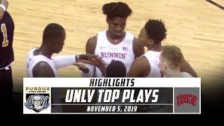 UNLV Basketball Top Plays vs. Purdue Fort Wayne (2019-20)   Stadium