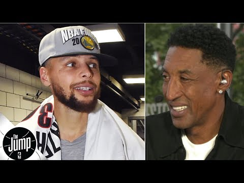 'How do you defend that?': Scottie Pippen amazed by Steph Curry during Blazers sweep | The Jump