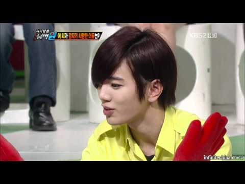 [IN吧中字]120625 逃離危機No.1 - INFINITE Woohyun SungJong Cut