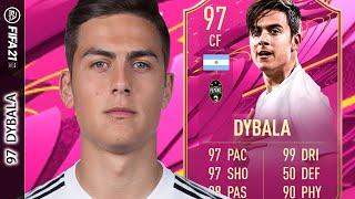 ¡ES UNA COMPLETA LOCURA DE CARTA! 97 Paulo DYBALA FIFA 21 PLAYER REVIEW FUTTIES SBC  ULTIMATE TEAM