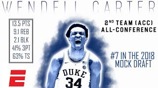 Wendell Carter Jr.'s 2018 NBA Draft Scouting Video | DraftExpress | ESPN