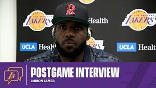 Lakers Postgame: LeBron James (5/16/21)