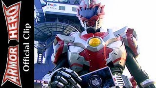 Armor Heroes Fight with the Three Monsters (3) - Armor Hero Official English Clip [HD] - 38